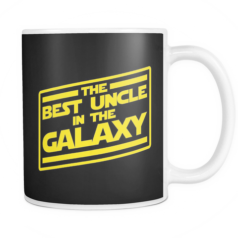 The Best Uncle In The Galaxy Mug