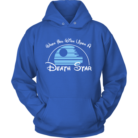 When You Wish Upon a Death Star Hoodie