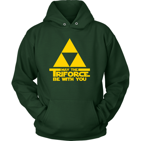 May The Triforce Be With You Hoodie