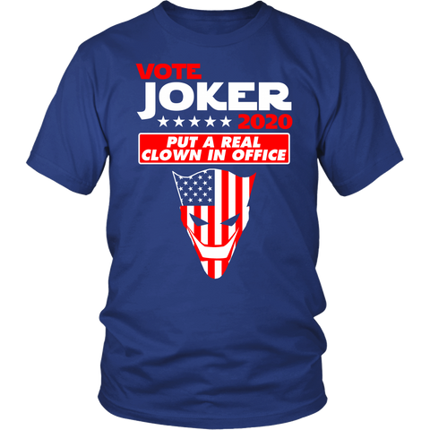 Vote For Joker 2020 T-Shirt