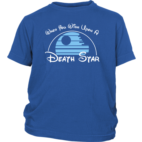 Wish Upon a Death Star Youth T-Shirt