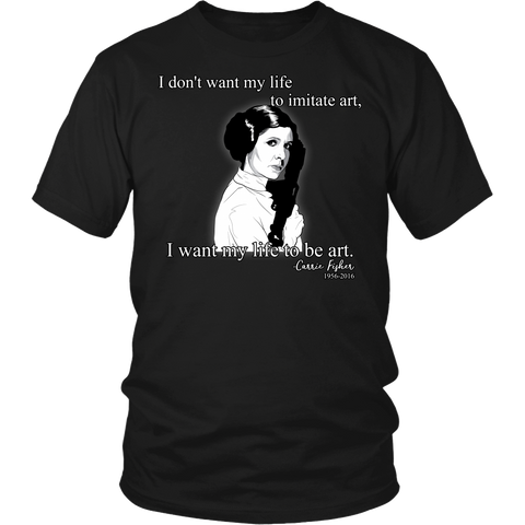 Carrie Fisher Tribute T-Shirt