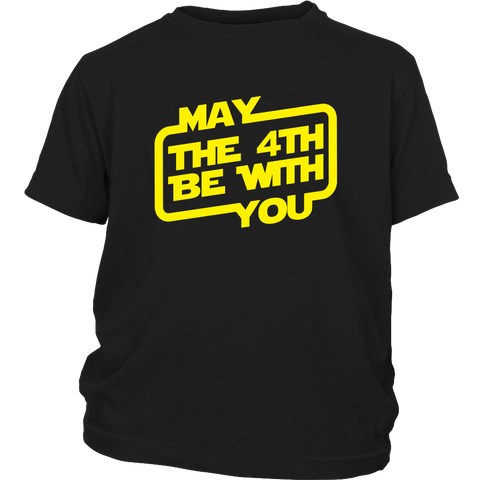 May The 4th Be With You Youth T-Shirt