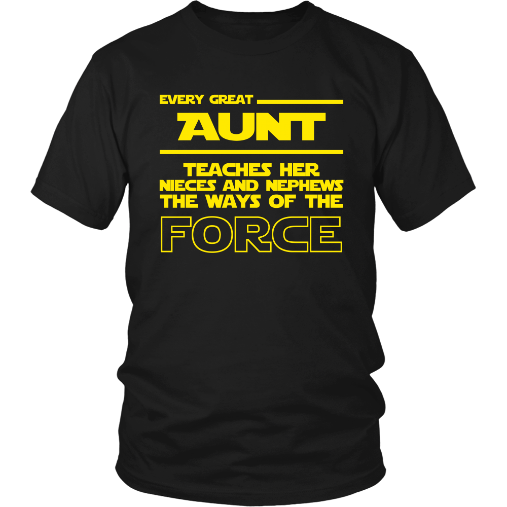 Great Aunt Teaches Force T-Shirt