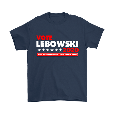 Vote Lebowski 2020 T-Shirt and Tank Top