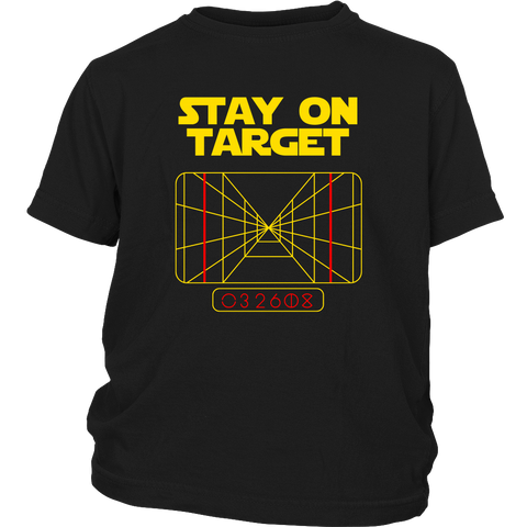 Stay On Target Youth T-Shirt