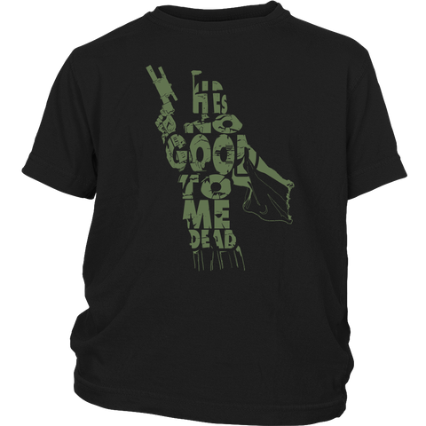 He's No Good To Me Dead Youth T-Shirt