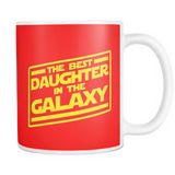 The Best Daughter In The Galaxy Mug