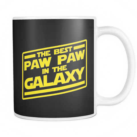 The Best Paw Paw In The Galaxy Mug