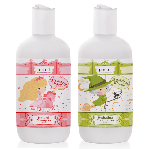 Natural Shampoo and Hydrating Conditioner Bundle 2