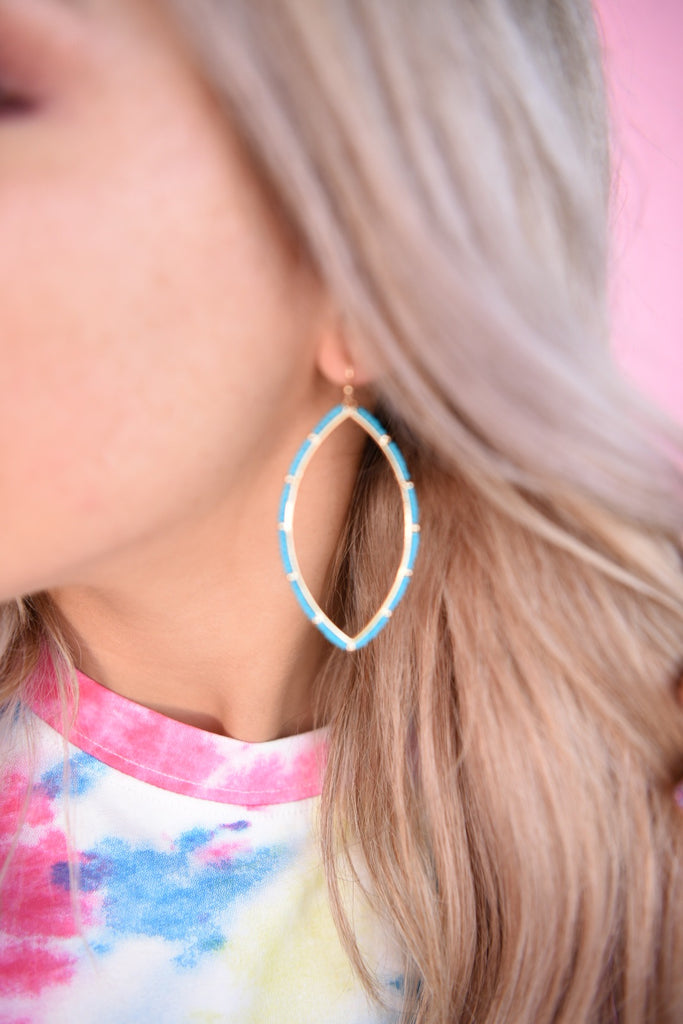 Turquoise Costa Rica Earring