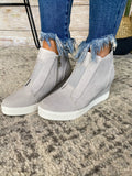 Grey Stay Cool Sneakers