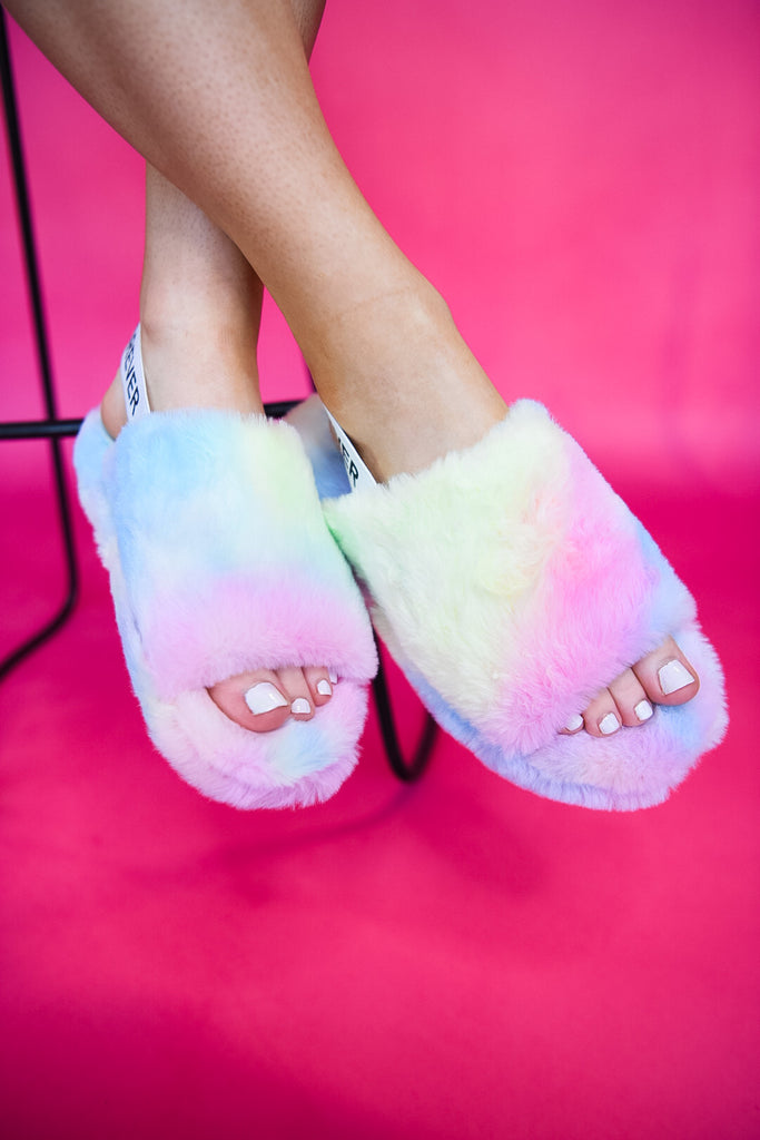 Tie Dye Lounge Slipper