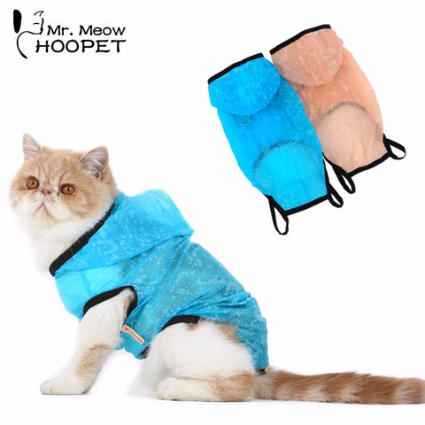 Cat Raincoat Protection