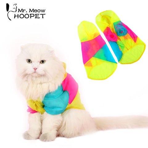 Transparent UV Light Cat Vest