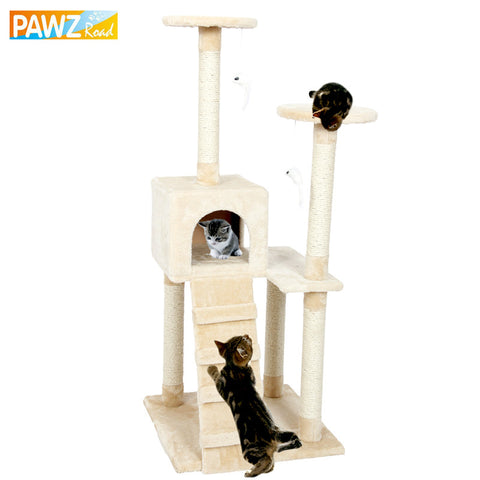 Solid Wood Cat Climbing Tree