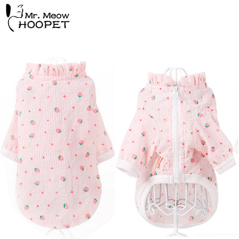 Cat Pink Strawberry Summer Jackets