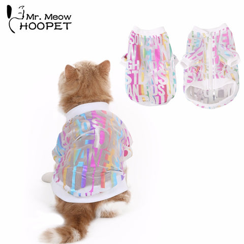 Cat Sun Protection Ultraviolet coat
