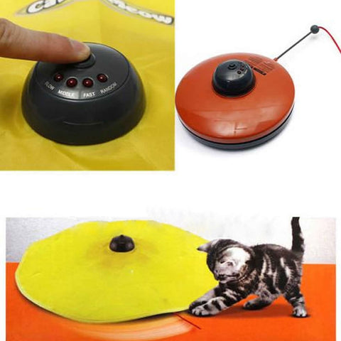 Undercover Fabric Moving Mouse Cat Toy, Cat toys, sillydealsonline, sillydealsonline