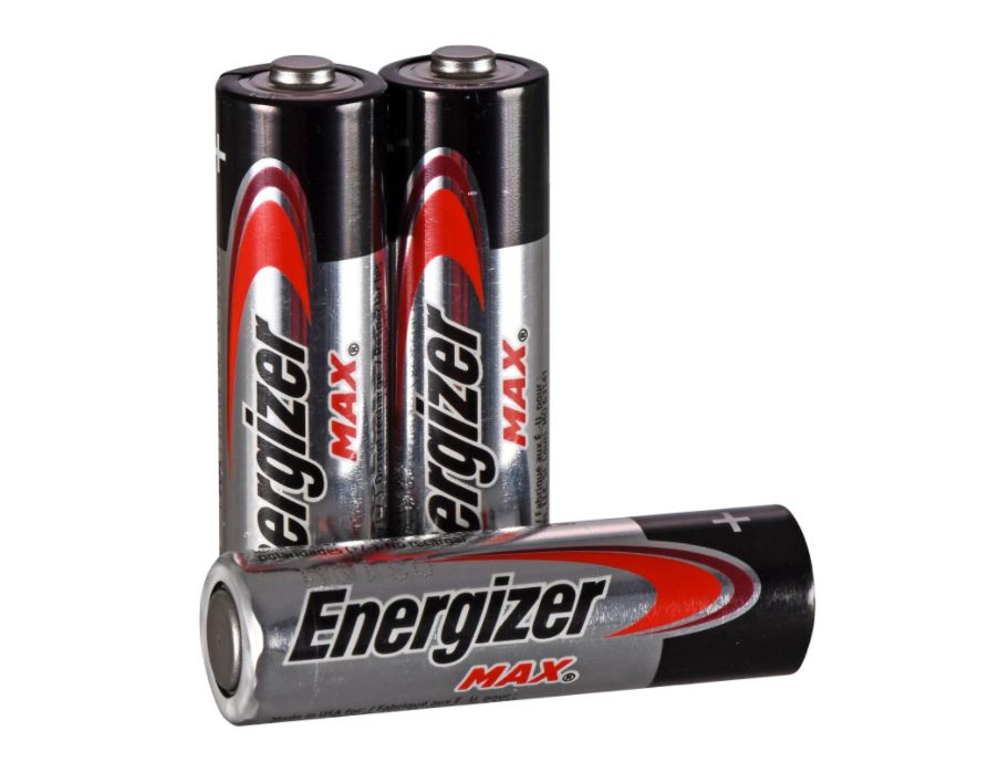 Energizer AA Alkaline Batteries (Pack of 3)