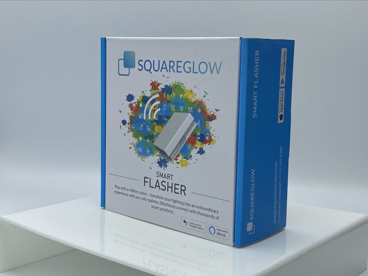 Smart SquareGlow Flasher