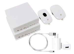 HomeKit with two USB cable and two USB wall adapters