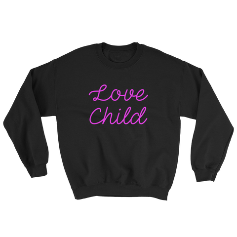 Love Child Crew Neck / 12 Colors - Showroom 007