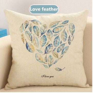 Love Birds Decorative Throw Pillow - Showroom 007