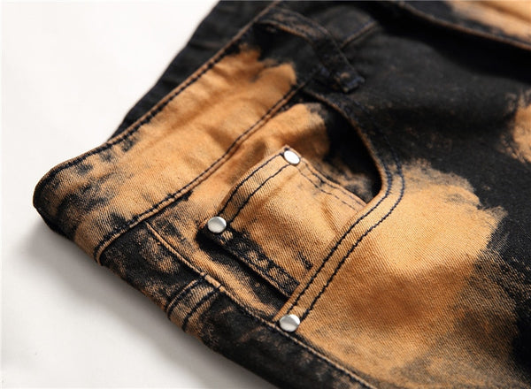 Bleached out Jeans