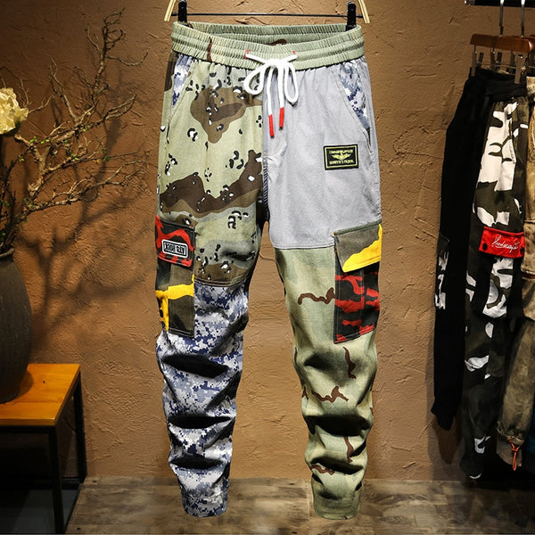 Camo Mechanics Jogger Pants