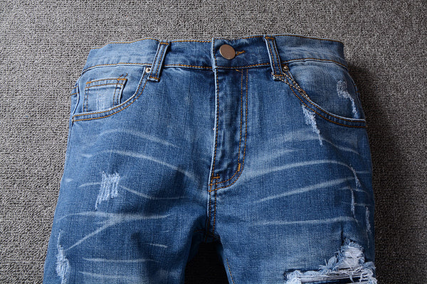 Rested and Distressed Jeans