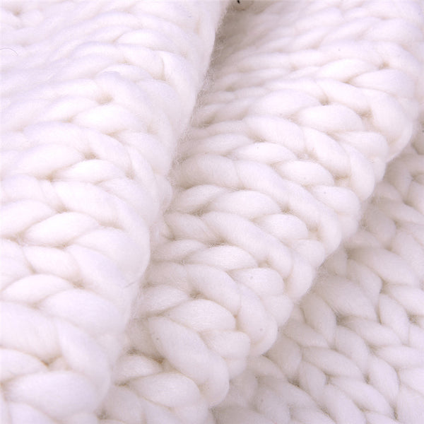 Warm Me Up Chunky Knit Blanket / 5 Colors