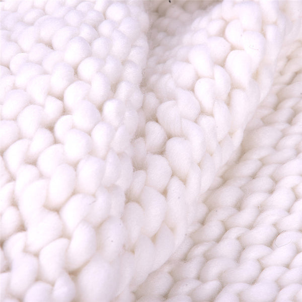 Warm Me Up Chunky Knit Blanket / 5 Colors - Showroom 007