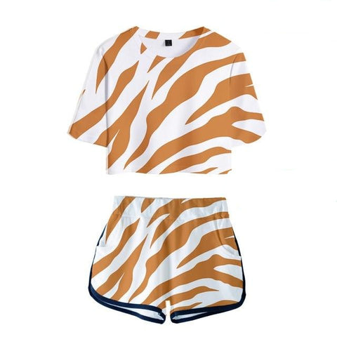 Wild Thing Shorts Set