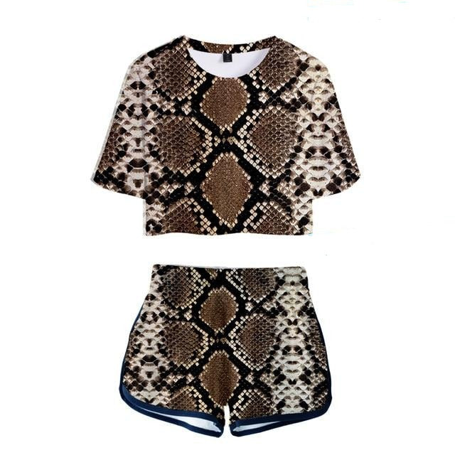 Python Play Shorts Set