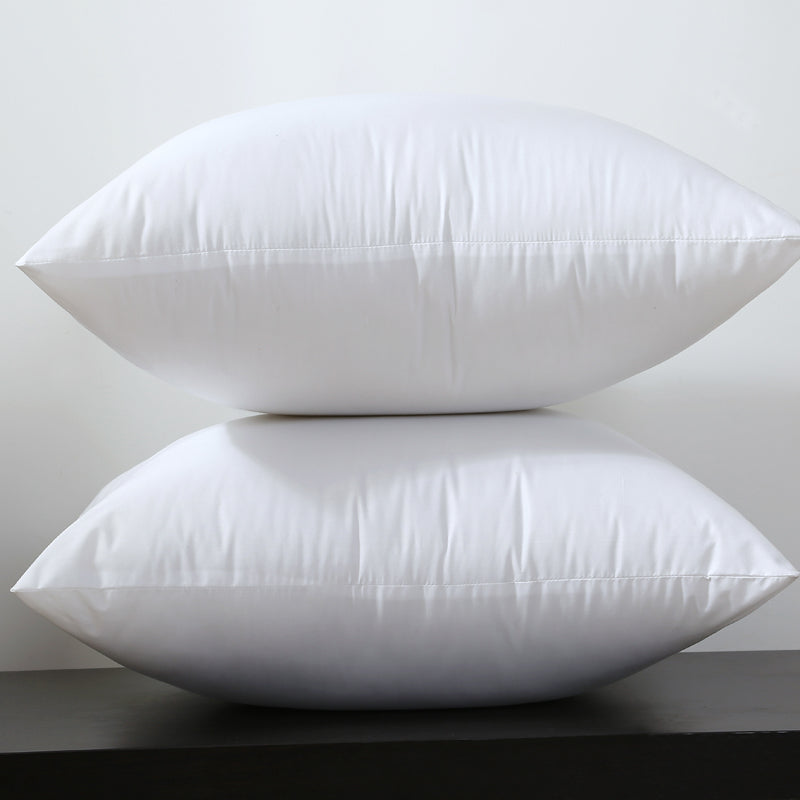 "Square White Cotton Cushion Filling for 18X18"" ( 45X45cm ) Pillow Covers - Showroom 007"