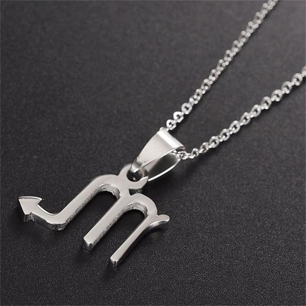 Signs Of The Times Zodiac Necklace - Showroom 007