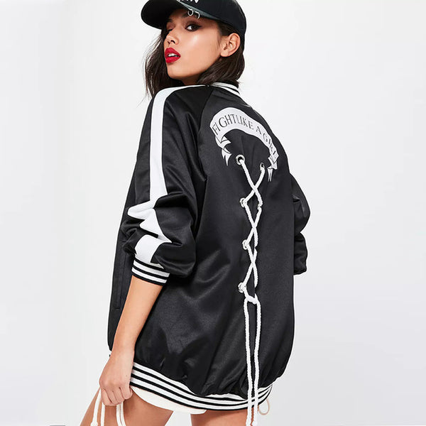Fight Like A Girl Jacket - Showroom 007