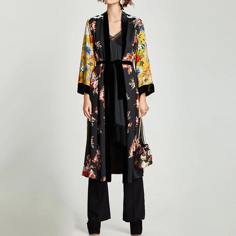 Polka Dots And Moonbeams Kimono - Showroom 007