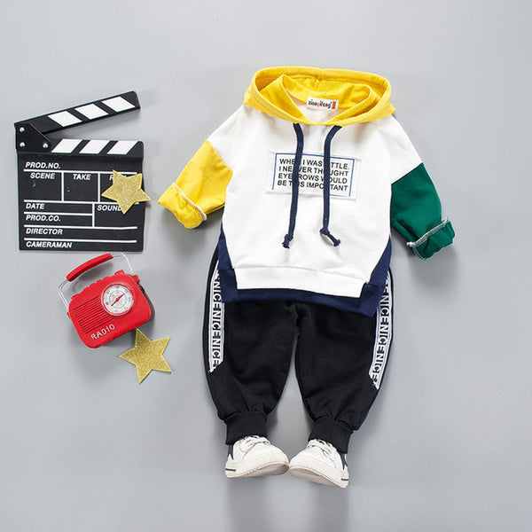 Little Irony Sweatsuit Unisex 9M-4T - Showroom 007