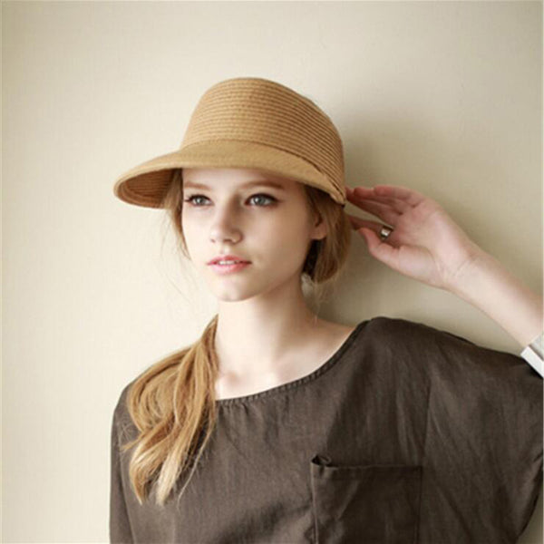 Straw Shade Visor - Showroom 007