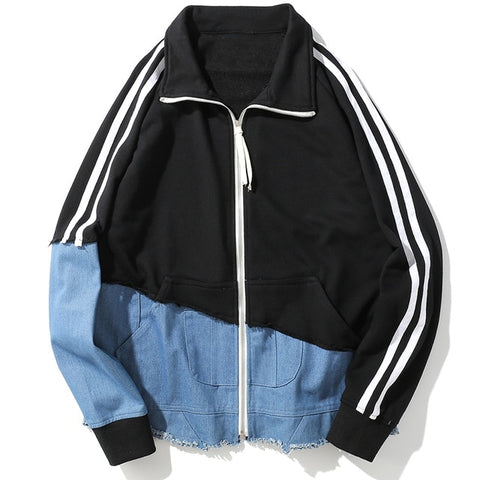 Spliced Up Track Jacket