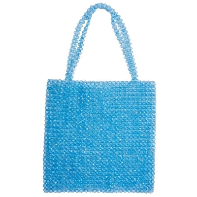 Ocean's Pearl Beaded Bag