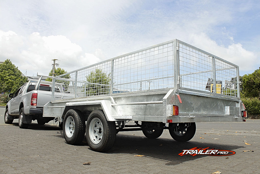 12x6 Commercial Grade Cage Trailer