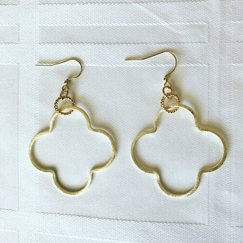 Large Clover Earrings
