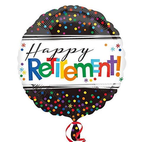 Happy retirement Build your own balloon bouquet
