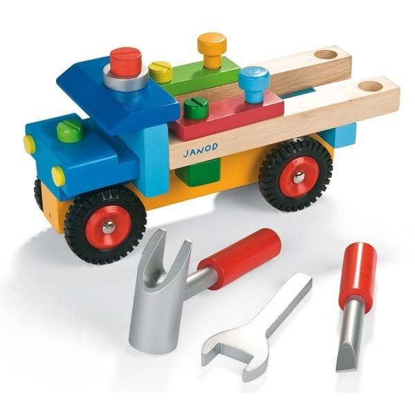 JANOD WOODEN TOYS | DIY TOOL KIT TRUCK