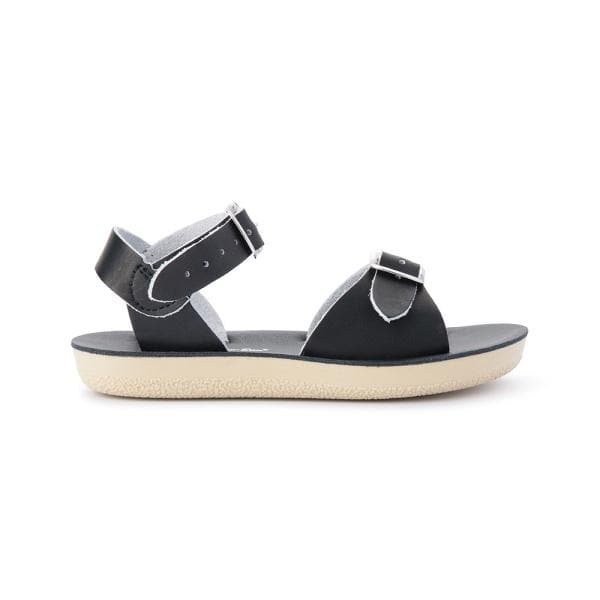 Salt Water Sandals for Kids | Sun San Surfer - Black