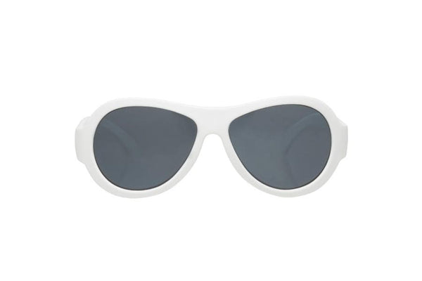 Aviator Babiators - White Kids Sunglasses