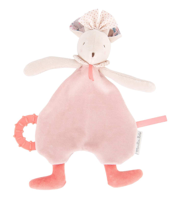 MOULIN ROTY  - Il etait Mimi Pink Mouse Comforter